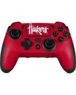 Nebraska Huskers Red PlayStation Scuf Vantage 2 Controller Skin