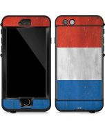 Netherlands Flag Distressed LifeProof Nuud iPhone Skin