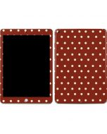 Neutral Polka Dots Apple iPad Skin