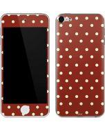 Neutral Polka Dots Apple iPod Skin