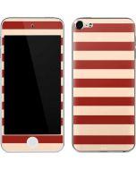 Neutral Stripes Apple iPod Skin