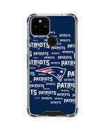 New England Patriots Blast Google Pixel 5 Clear Case