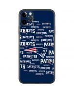 New England Patriots Blast iPhone 11 Pro Max Skin