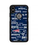 New England Patriots Blast Otterbox Commuter iPhone Skin