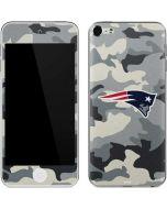New England Patriots Camo Apple iPod Skin
