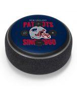 New England Patriots Helmet Amazon Echo Dot Skin