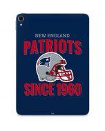 New England Patriots Helmet Apple iPad Pro Skin
