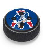 New England Patriots Retro Logo Amazon Echo Dot Skin