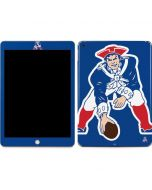 New England Patriots Retro Logo Apple iPad Skin