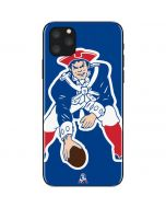 New England Patriots Retro Logo iPhone 11 Pro Max Skin