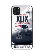 New England Patriots Super Bowl Champs iPhone 11 Pro Max Skin