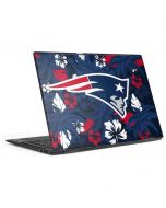New England Patriots Tropical Print HP Envy Skin