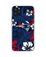 New England Patriots Tropical Print iPhone 11 Pro Max Skin