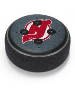 New Jersey Devils Black Background Amazon Echo Dot Skin
