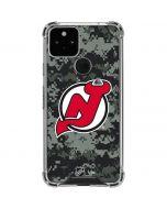 New Jersey Devils Camo Google Pixel 5 Clear Case