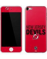 New Jersey Devils Lineup Apple iPod Skin
