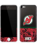 New Jersey Devils Retro Tropical Print Apple iPod Skin