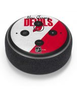 New Jersey Devils Script Amazon Echo Dot Skin