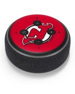 New Jersey Devils Solid Background Amazon Echo Dot Skin