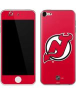 New Jersey Devils Solid Background Apple iPod Skin