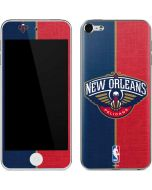 New Orleans Pelicans Canvas Apple iPod Skin
