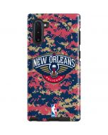 New Orleans Pelicans Digi Camo Galaxy Note 10 Pro Case