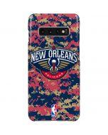 New Orleans Pelicans Digi Camo Galaxy S10 Plus Lite Case