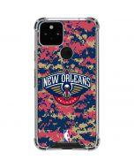 New Orleans Pelicans Digi Camo Google Pixel 5 Clear Case