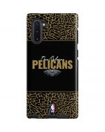 New Orleans Pelicans Elephant Print Galaxy Note 10 Pro Case