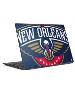 New Orleans Pelicans Large Logo HP Envy Skin