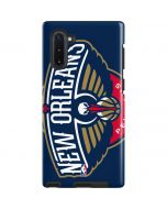 New Orleans Pelicans Large Logo Galaxy Note 10 Pro Case