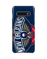 New Orleans Pelicans Large Logo Galaxy S10 Plus Lite Case