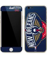New Orleans Pelicans Large Logo iPhone 6/6s Skin