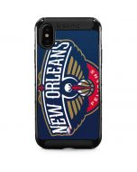 New Orleans Pelicans Large Logo iPhone XS Max Cargo Case