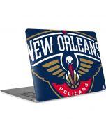 New Orleans Pelicans Large Logo Apple MacBook Air Skin