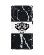 New Orleans Pelicans Marble Galaxy Note 10 Pro Case