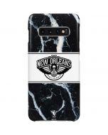 New Orleans Pelicans Marble Galaxy S10 Plus Lite Case