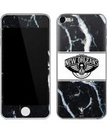New Orleans Pelicans Marble Apple iPod Skin
