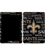 New Orleans Saints Black Blast Apple iPad Skin