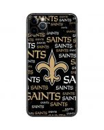 New Orleans Saints Black Blast iPhone 11 Pro Max Skin