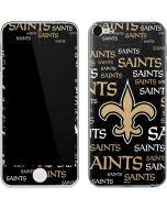 New Orleans Saints Black Blast Apple iPod Skin