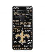 New Orleans Saints Black Blast LG K51/Q51 Clear Case
