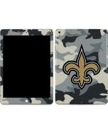 New Orleans Saints Camo Apple iPad Skin