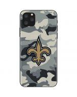 New Orleans Saints Camo iPhone 11 Pro Max Skin