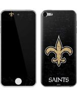 New Orleans Saints Distressed Apple iPod Skin