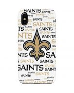New Orleans Saints Gold Blast iPhone XS Max Lite Case