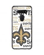 New Orleans Saints Gold Blast LG K51/Q51 Clear Case