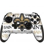 New Orleans Saints Gold Blast PlayStation Scuf Vantage 2 Controller Skin