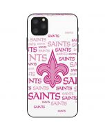 New Orleans Saints Pink Blast iPhone 11 Pro Max Skin
