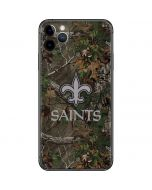New Orleans Saints Realtree Xtra Green Camo iPhone 11 Pro Max Skin